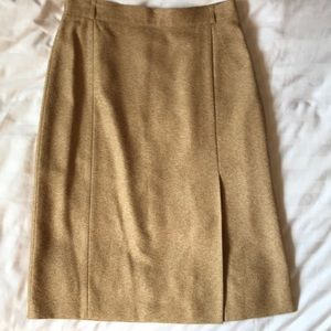 Gerry Weber german designed vintage camel skirt
